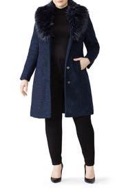 Flat Boucle Coat by NVLT