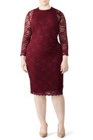 Dexter Lace Dress by Lauren Ralph Lauren