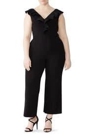 Justinara Ruffle Jumpsuit by Lauren Ralph Lauren