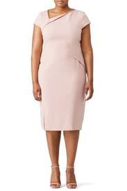 Sissi Pink Dress by L.K. Bennett