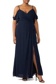 Navy Aldridge Gown by WATTERS