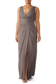 Stone Antonia Gown by WATTERS