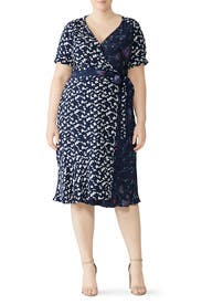 Luisa Wrap Dress by Tanya Taylor
