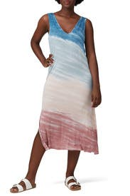 Tie Dye Midi Dress by Splendid