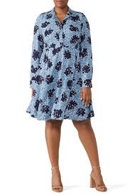 Bubble Dot Smocked Dress by kate spade new york