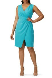 Blue Nora Dress by Black Halo