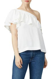 White Los Angeles Top by Trina Turk