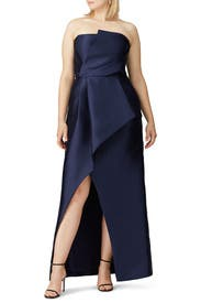 Blue Whitney Gown by Parker