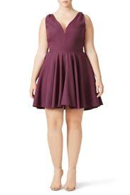 Purple Marilyn Dress by allison parris