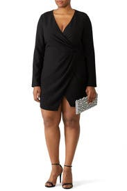 Black Carie Mini Dress by Black Halo
