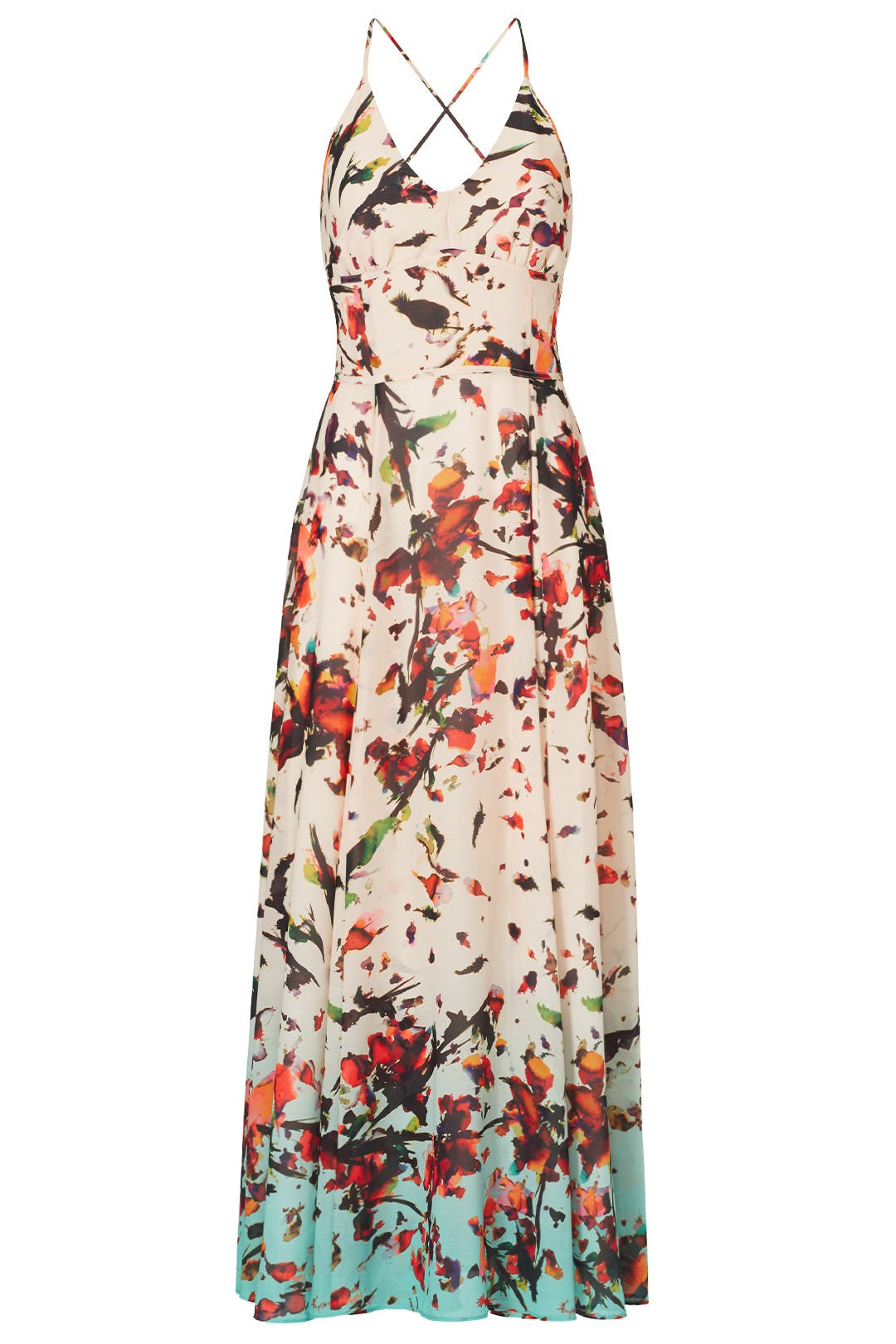 e198ffc4117d Crinkle Chiffon Floral Dress by Rachel Rachel Roy for $30 | Rent the Runway