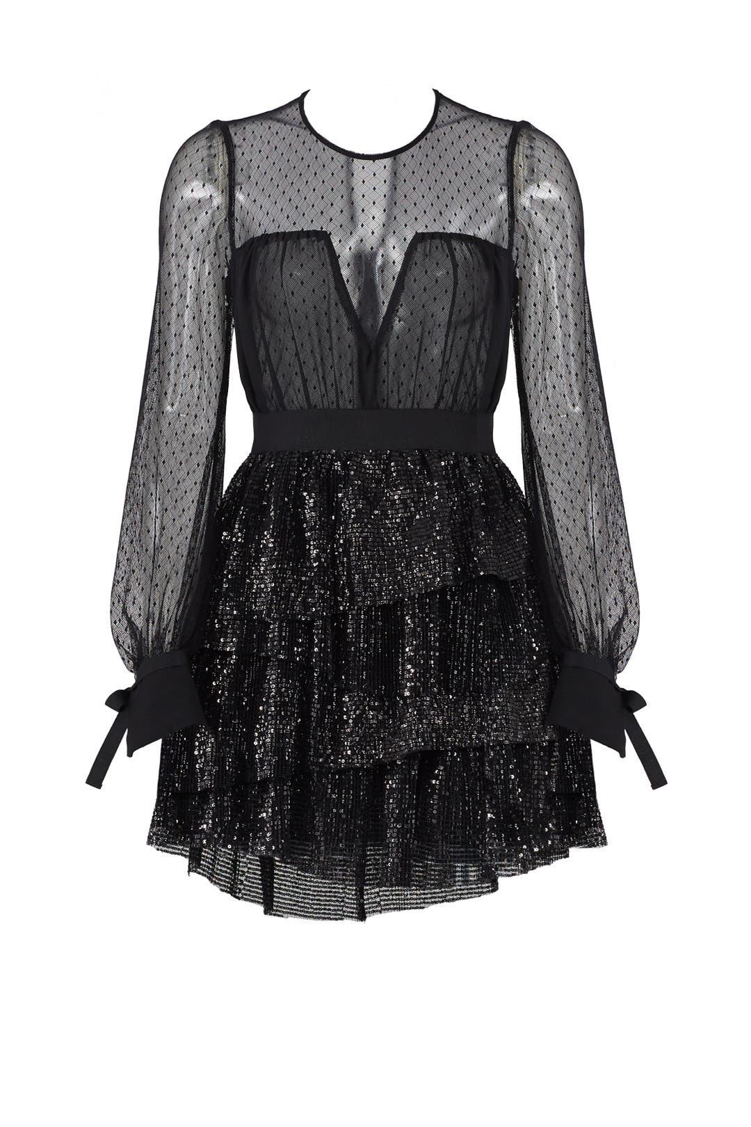 Mesh Sequin Dress by Christian Pellizzari