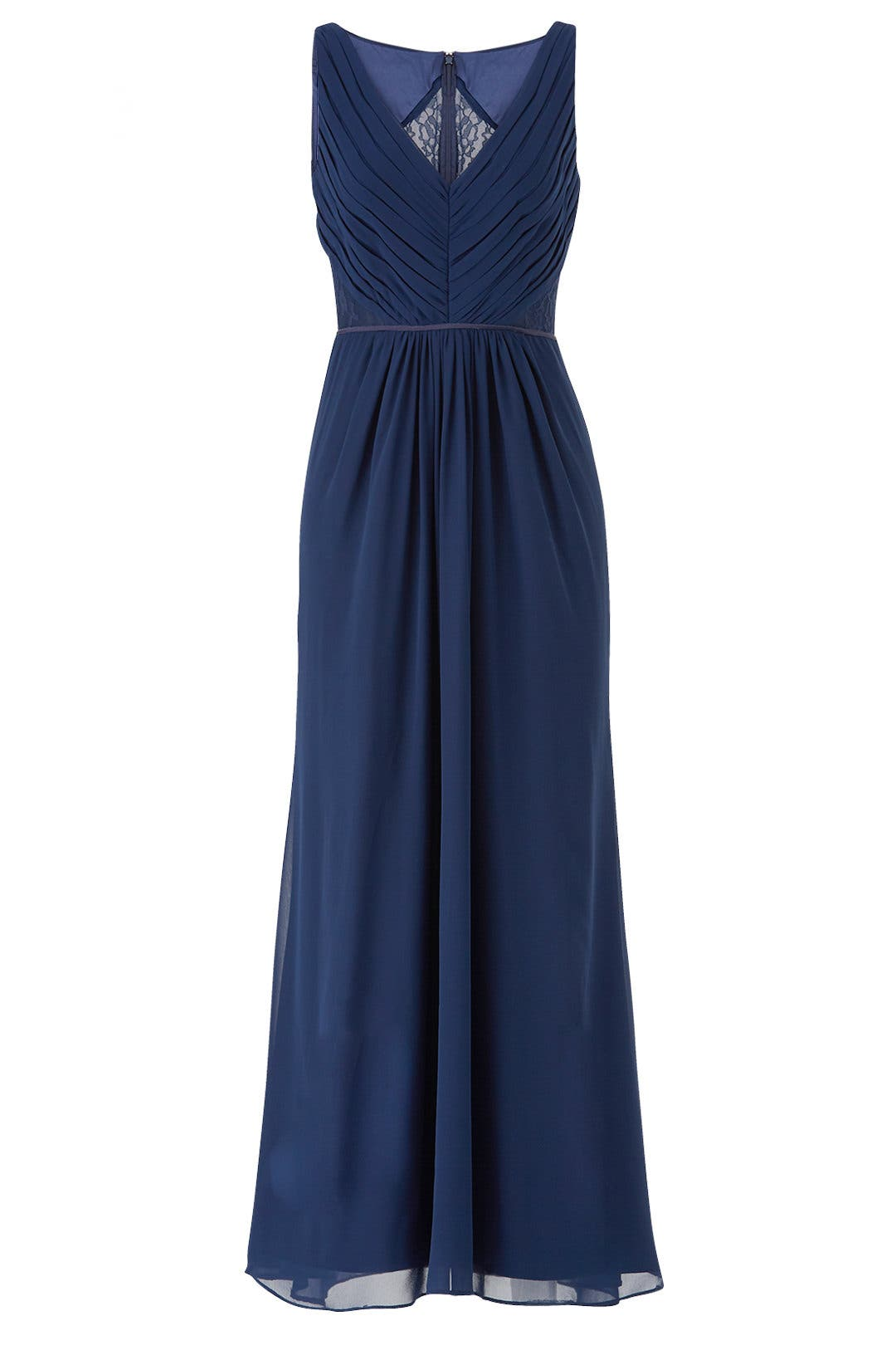 c4e23d74ade Navy Amelia Gown by Monique Lhuillier for  50