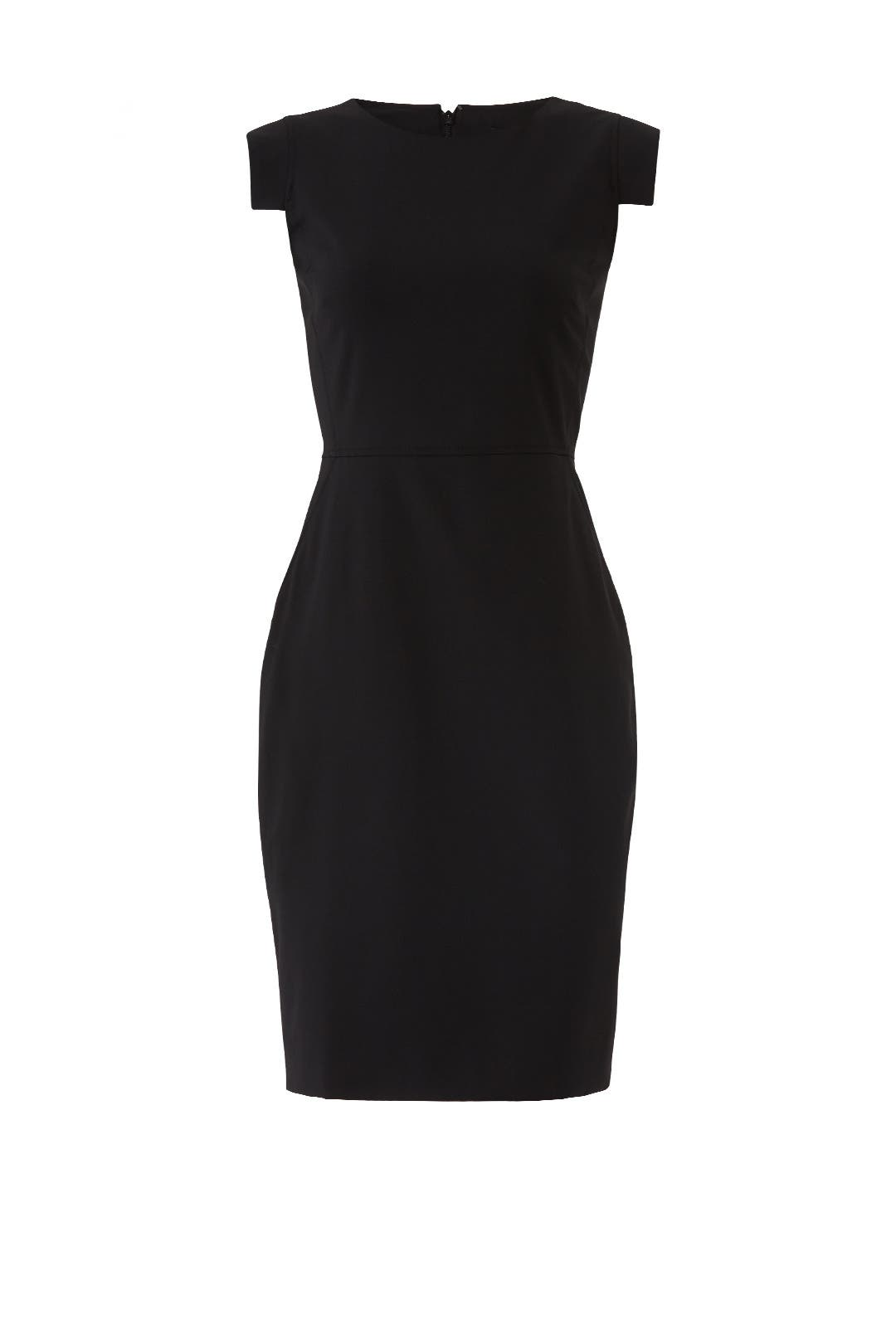 black resume dress by j crew for  35