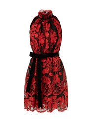 Red Lace Dress by Alexia Admor