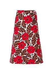 Poppy Field Wrap Skirt by kate spade new york