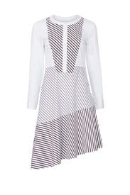 Asymmetrical Shirt Dress by Chelsea28