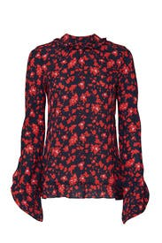 Floral Open Back Top by Derek Lam Collective