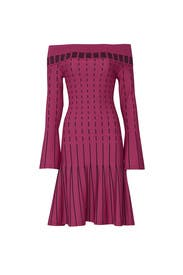 Stripe Off The Shoulder Dress by Prabal Gurung Collective