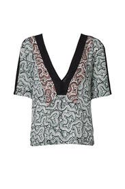 Printed Lilias Top by A.L.C.