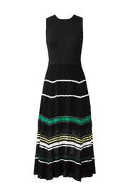 Sleeveless Waisted Knit Dress by Proenza Schouler
