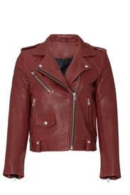 Ebeyna Leather Jacket by Iro