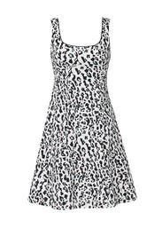 White Leopard Dress by Nanette Lepore