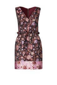 Metallic Floral Dress by Laundry by Shelli Segal
