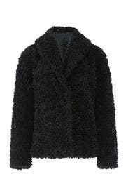 Faux Shearling Emile Coat by John + Jenn