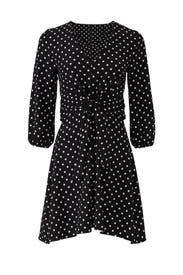 Polka Dot Tie Waist Dress by Slate & Willow
