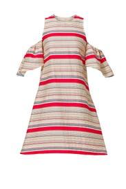 Stripe Nola Dress by Tanya Taylor