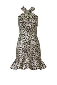 Metallic Leopard Dress by Slate & Willow
