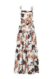 Tiered Floral Maxi by Nicholas