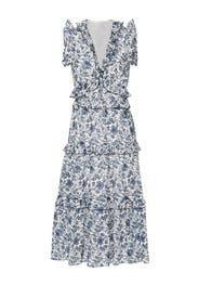 Carmen Ruffle Dress by Robert Rodriguez