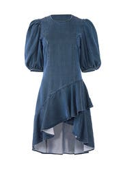 Denim Emery Dress by AMUR