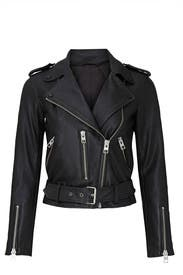 Black Balfern Biker Jacket by AllSaints