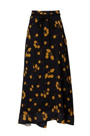 Cherry Print Maxi Skirt by 3.1 Phillip Lim