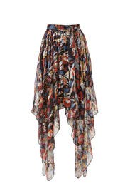 Long Asymmetrical Skirt by The Kooples