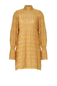 Yellow Lace Dress by Free People
