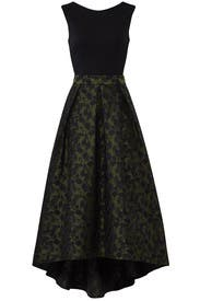 Green Floral High Low Dress by Hutch
