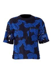 Oversize Lace T-Shirt by Jason Wu