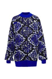 Oversize Woolen Sweater by MSGM