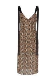 Vegas Python Printed Dress by Goen. J