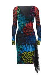 Winter Garden Nero Dress by Emanuel Ungaro