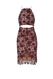 Plum Rosale Dress by STYLESTALKER