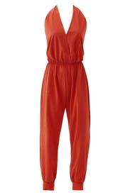 Terracotta Grayson Jumpsuit by Karen Zambos
