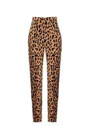 Leopard Skinny Pant by Diane von Furstenberg