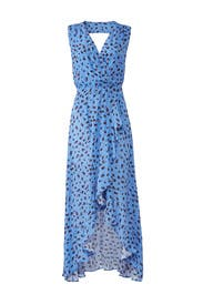 Blue Betty Dress by Parker