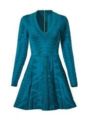 Teal Napa Knit Dress by Parker
