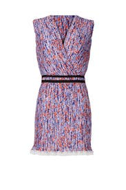 Poppy Printed Georgette Dress by Carven